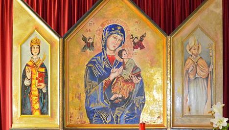 """Danneggiata la Madonna del Perpetuo Soccorso a Trasacco. Sindaco Lobene: """"saranno attivate le procedure per sanzionare i responsabili"""""""