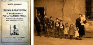 Il discorso di Mussolini alla Camera per incoraggiare l'incremento demografico
