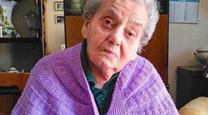Oggi Milena Di Vito di Opi compie 100 anni