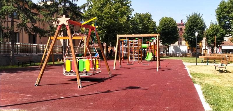 Domani inaugurazione del nuovo parco giochi di Trasacco
