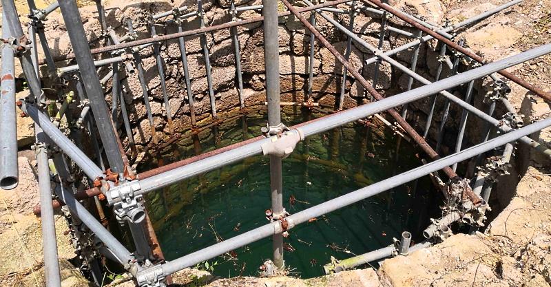 Riprendono i lavori ad Alba Fucens: scoperto il grande pozzo nei pressi del Santuario di Ercole