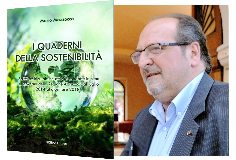 """""""I Quaderni della sostenibilità"""", nei Giardini del Palazzo Comunale di Avezzano si presenta il libro di Mario Mazzocca"""