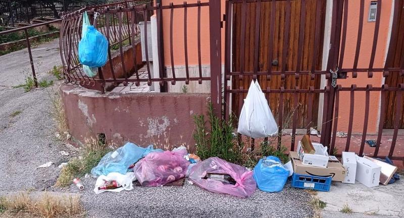 Rifiuti abbandonati e degrado in zona Giorgina a Tagliacozzo