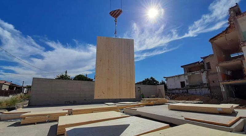 Parte la costruzione della nuova scuola di San Benedetto dei Marsi