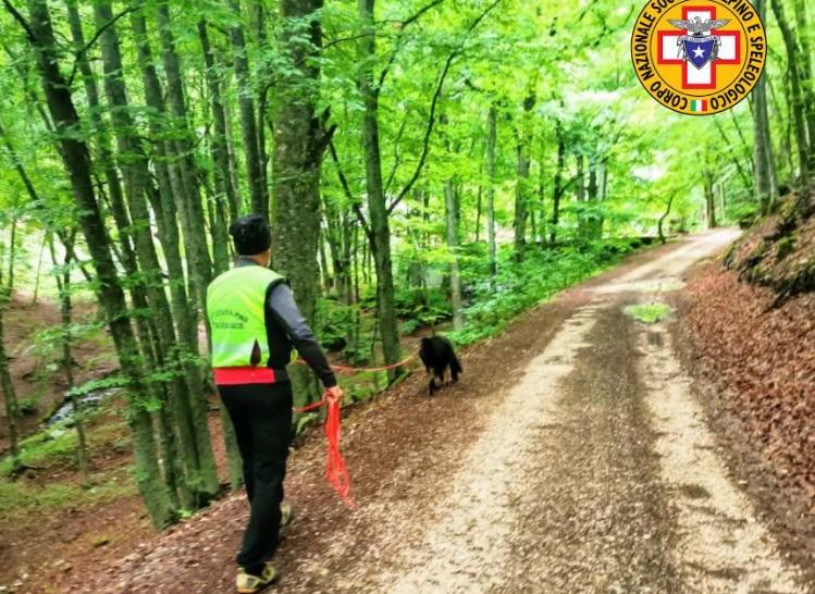 Campo di Giove ospita un importante polo formativo nazionale per i cani molecolari del Soccorso Alpino e Speleologico