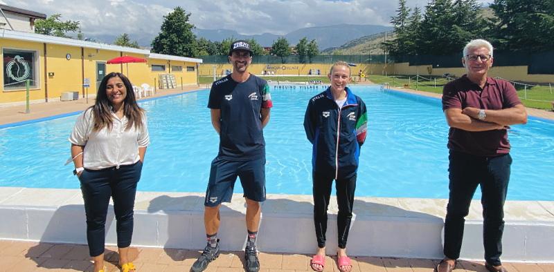 Triathlon: la Steinhauser si allena al Centro Pinguino in vista delle Olimpiadi
