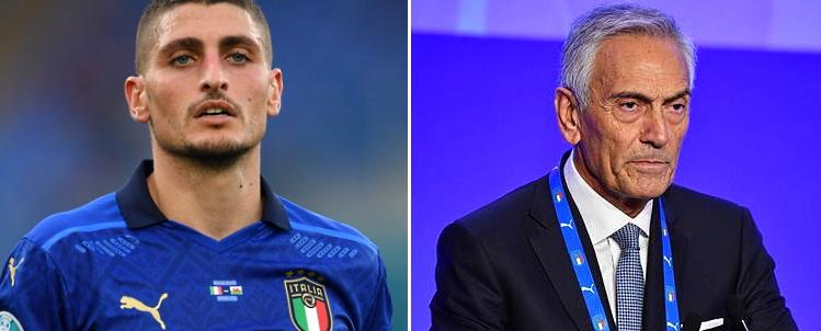 Ambasciatori d'Abruzzo, Pietrucci propone il nome del presidente Gravina oltre a quello di Verratti