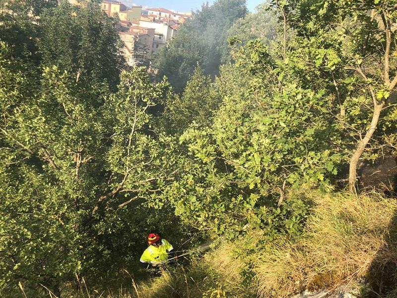 Riparte l'attività di Antincendio Boschivo della Croce Verde Valle Roveto