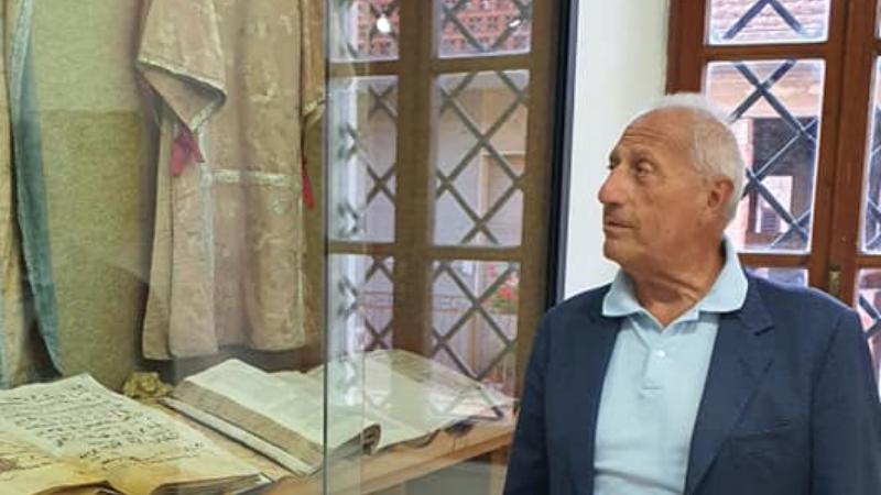 Il Senatore Di Benedetto in visita al Museo Civico di Cerchio