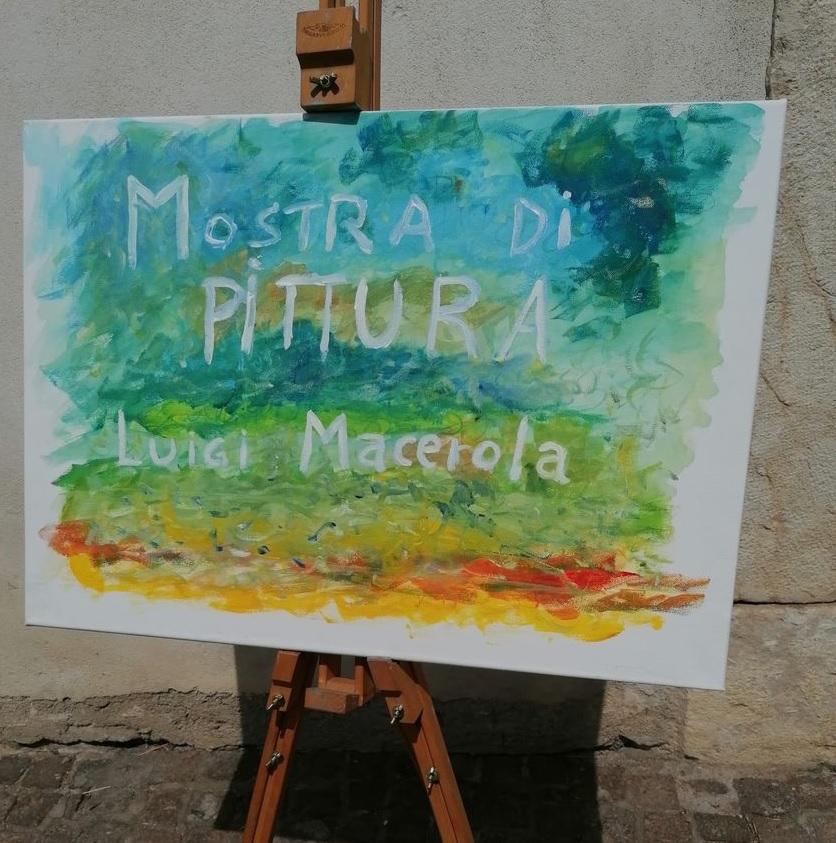 Le opere del pittore Luigi Macerola in mostra in uno dei palazzi più belli del centro storico di Pescina