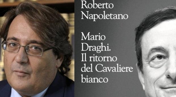 """Roberto Napoletano a Tagliacozzo per il suo nuovo libro """"Mario Draghi. Il Ritorno del Cavaliere Bianco"""""""