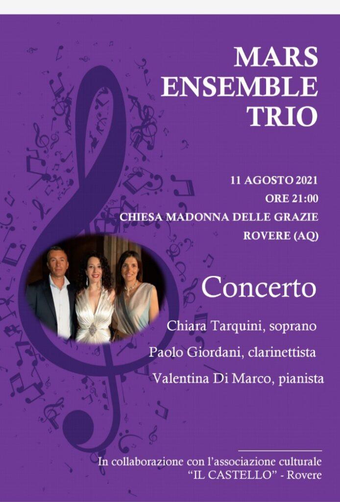 Concerto a Rovere del Mars Ensemble Trio