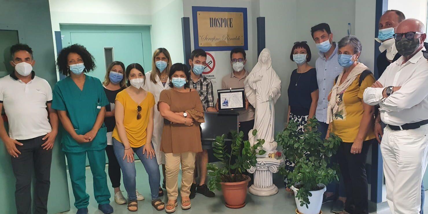 Donati televisori al reparto Hospice dell'ospedale di Pescina