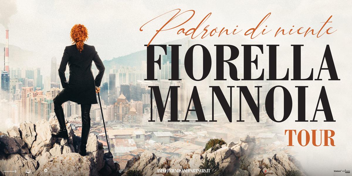 Fiorella Mannoia apre i tre giorni finali di Tagliacozzo Festival Con Di Padroni Niente Tour