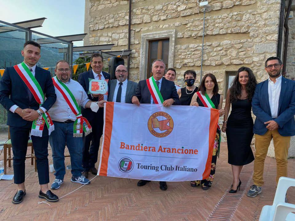 Giornata delle Bandiere Arancioni del Touring Club Italiano della Regione Abruzzo, il Comune di Opi riconfermato come paese Bandiera per il triennio 2021-2023