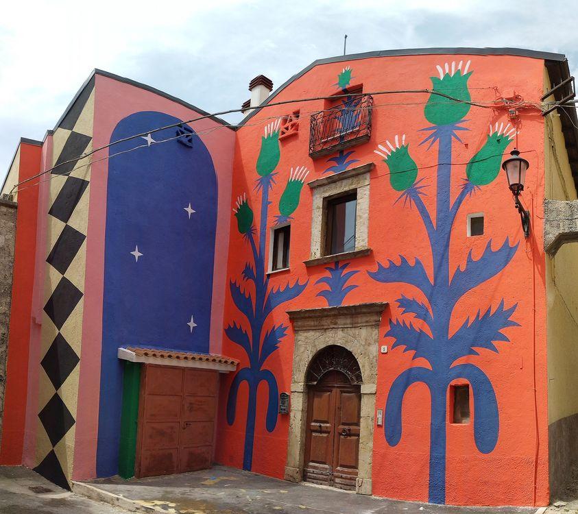 Ad Aielli c'è una nuova opera murale, è dell'artista italiano Agostino Iacurci