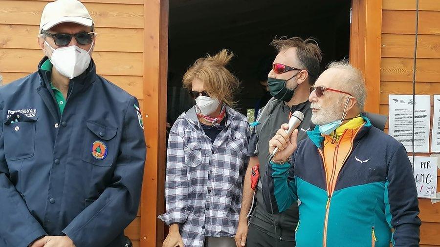 """Inaugurato il """"nuovo"""" Rifugio Vincenzo Sebastiani nel Parco Naturale Regionale Velino Sirente"""