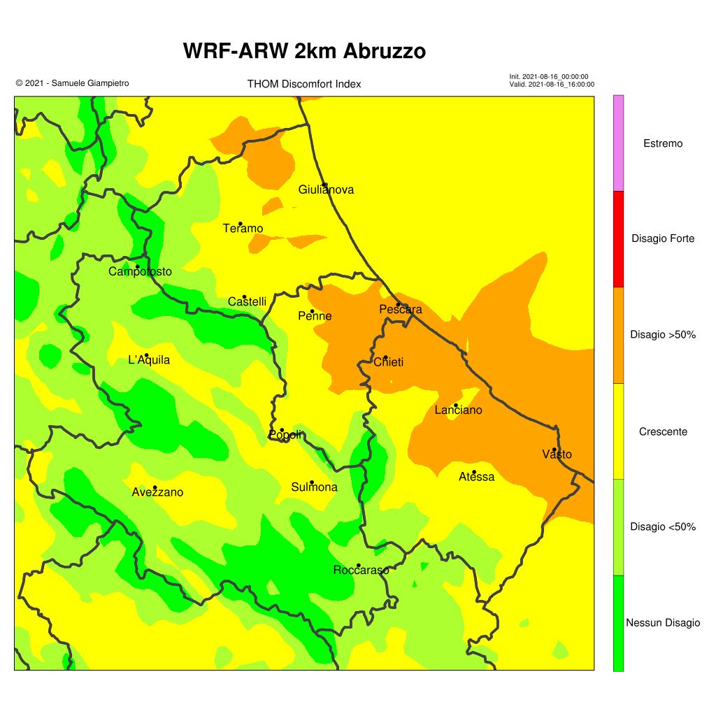 Meteo Abruzzo, in arrivo aria più fresca