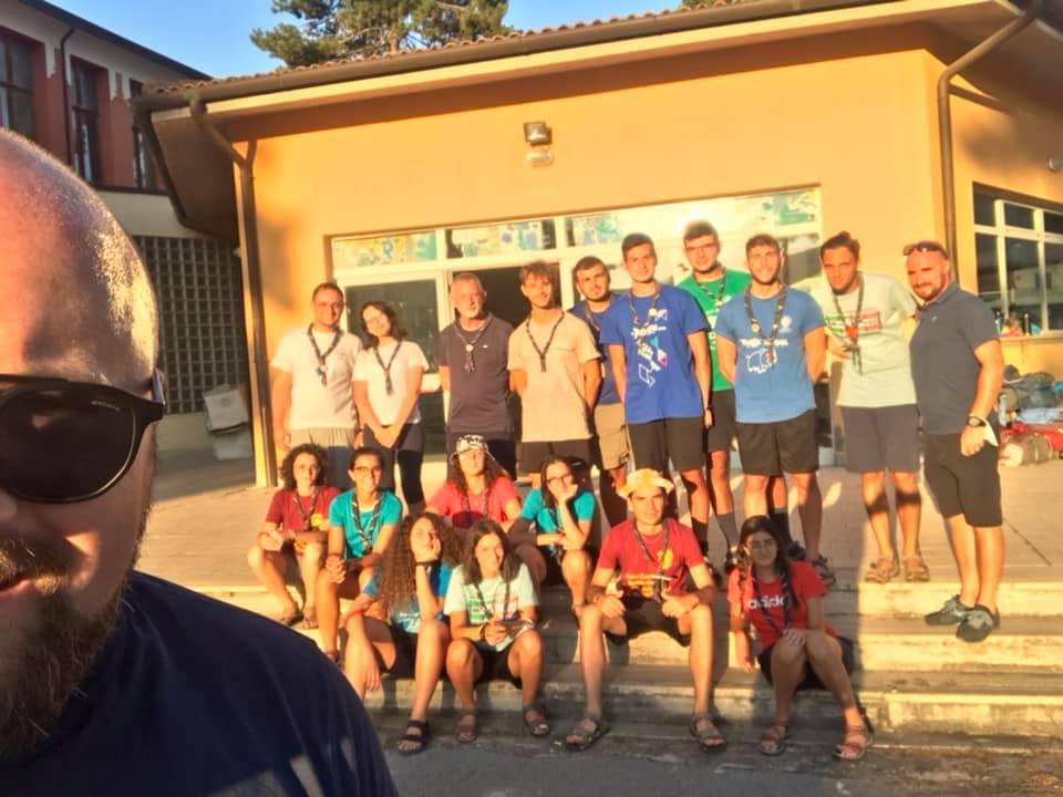 Gruppi scout in visita a Magliano de' Marsi, l'accoglienza del Comune
