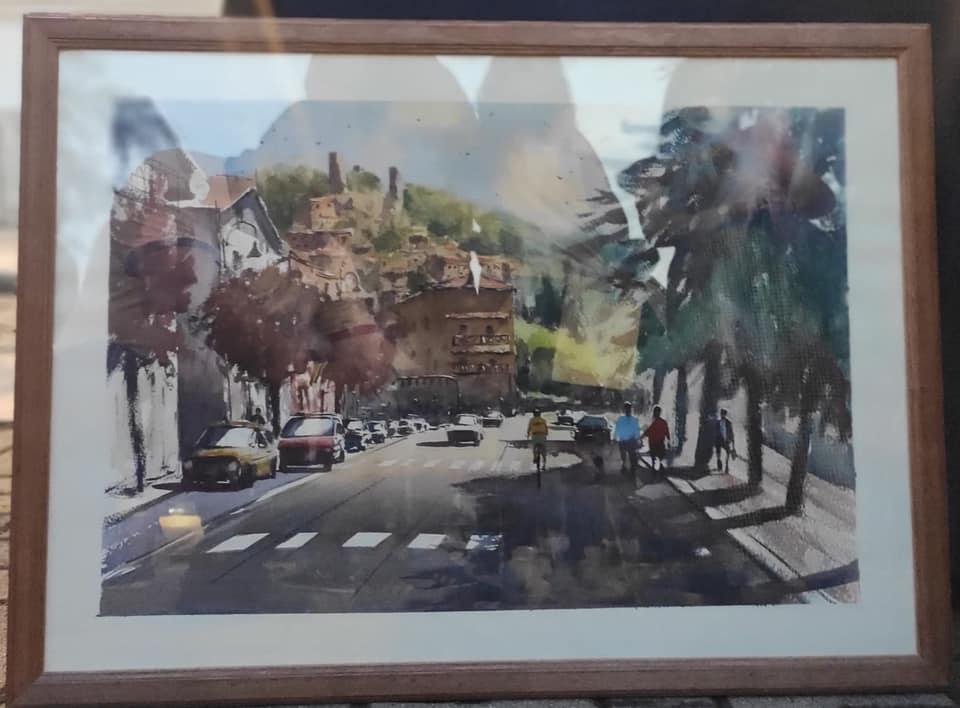 """Successo per l'estemporanea di pittura """"La Portella"""" a Carsoli"""