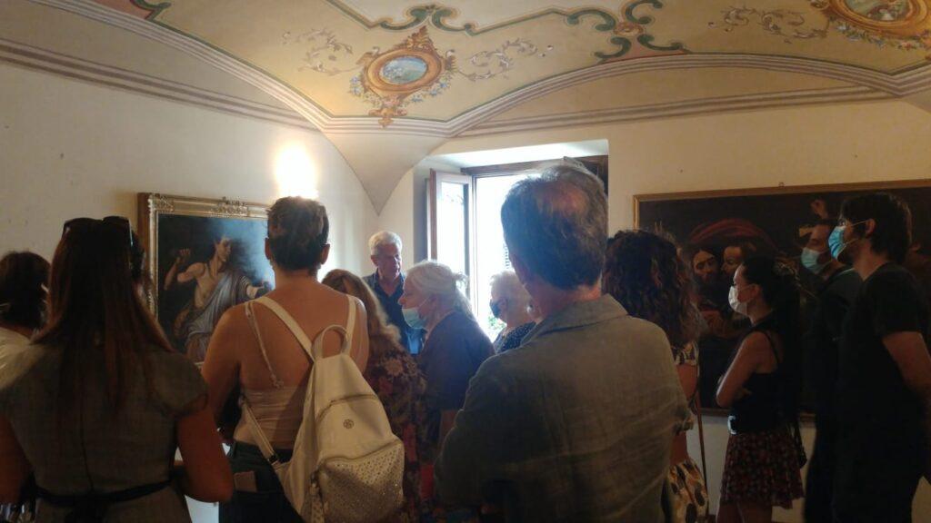 Si è conclusa con successo nel Comune di Pescina l'inaugurazione della Mostra sulle riproduzioni del Caravaggio e la serata dedicata a Dante e Silone