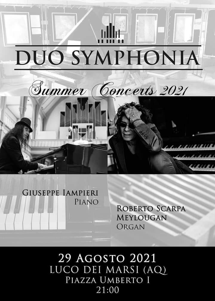Estate luchese, le sperimentazioni e l'incanto del Duo Symphonia per l'ultimo appuntamento d'agosto