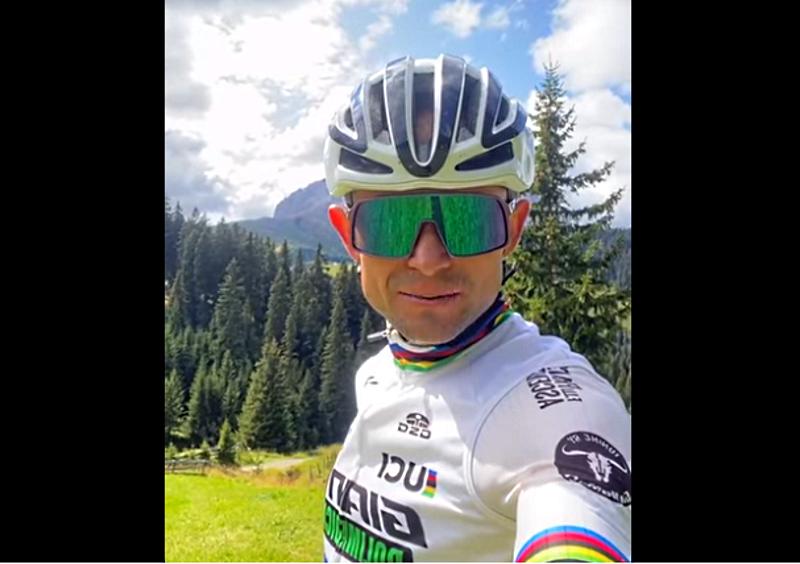 Il campione del mondo di mountain bike marathon Leonardo Paez parteciperà alla gara di Collarmele