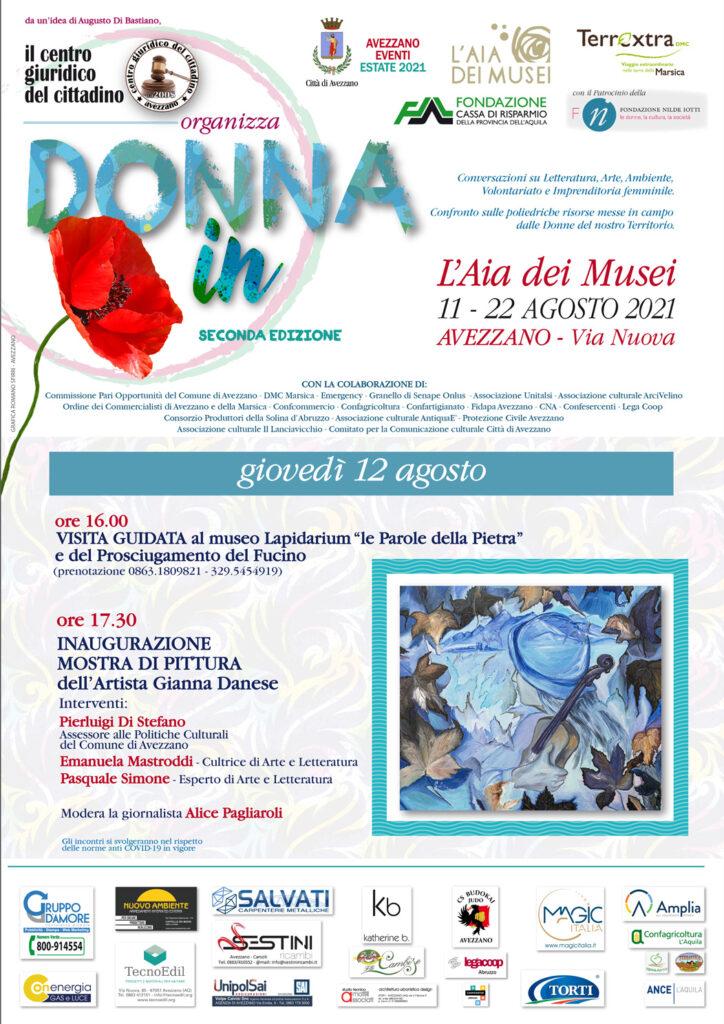 """Appuntamento domani all'Aia dei Musei con la seconda edizione di """"DONNAin"""""""
