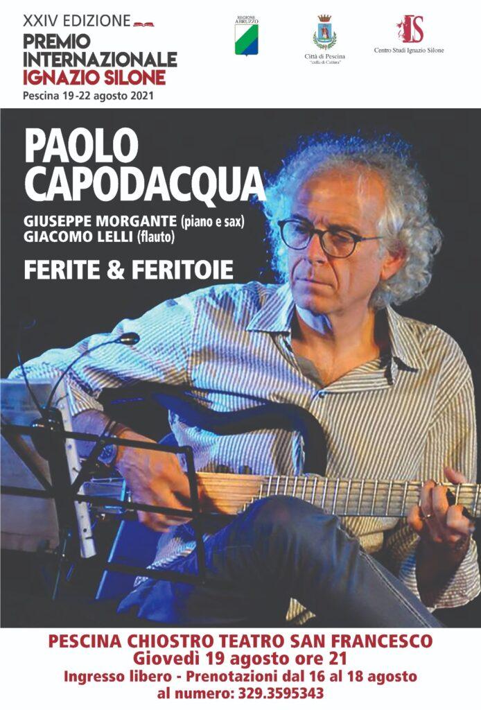 Tutto pronto a Pescina per la XXIV^ edizione del Premio Internazionale Ignazio Silone
