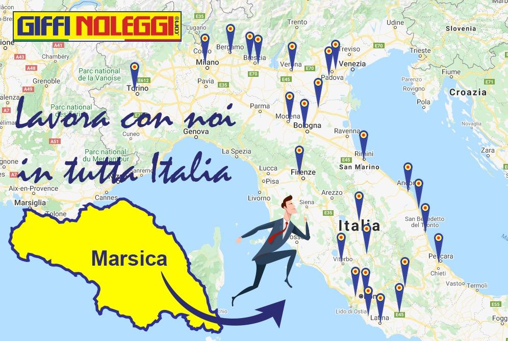 Nuove e stimolanti opportunità di lavoro da Giffi Noleggi in tutta Italia