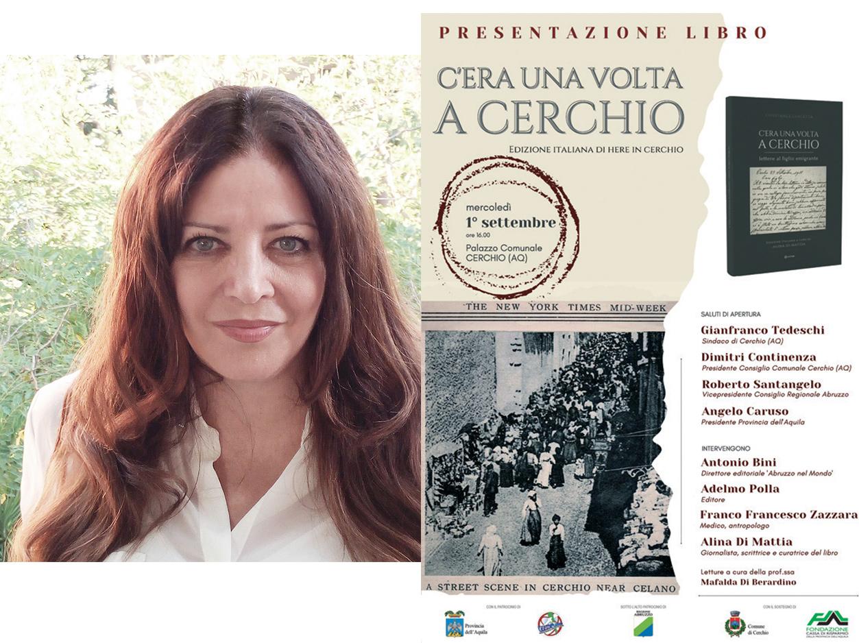 """Presentazione del libro """"C'era una volta a Cerchio"""" di Alina Di Mattia"""