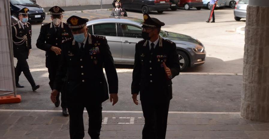 Il Comandante Generale dell'Arma dei Carabinieri, Gen. C.A. Teo Luzi, visita il Comando Compagnia Carabinieri di Avezzano