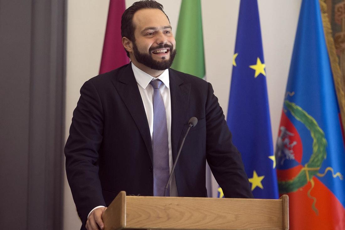 Il Vice Presidente del Parlamento Europeo Castaldo in visita a Cerchio
