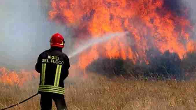 incendio boschivi