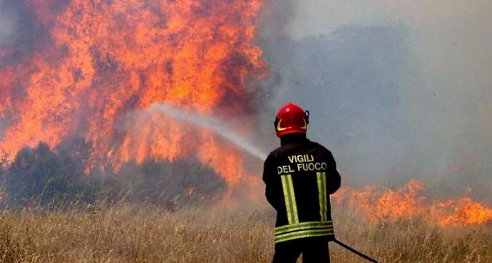 Caldo estremo tra il 10 e l'11 agosto, massima attenzione per gli incendi boschivi