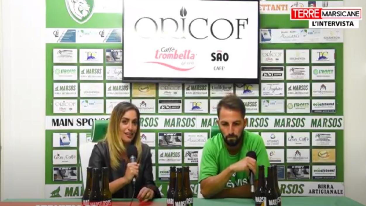 Amichevole Avezzano-Sora, tris dei biancoverdi: l'intervista post partita al centrocampista Bisegna