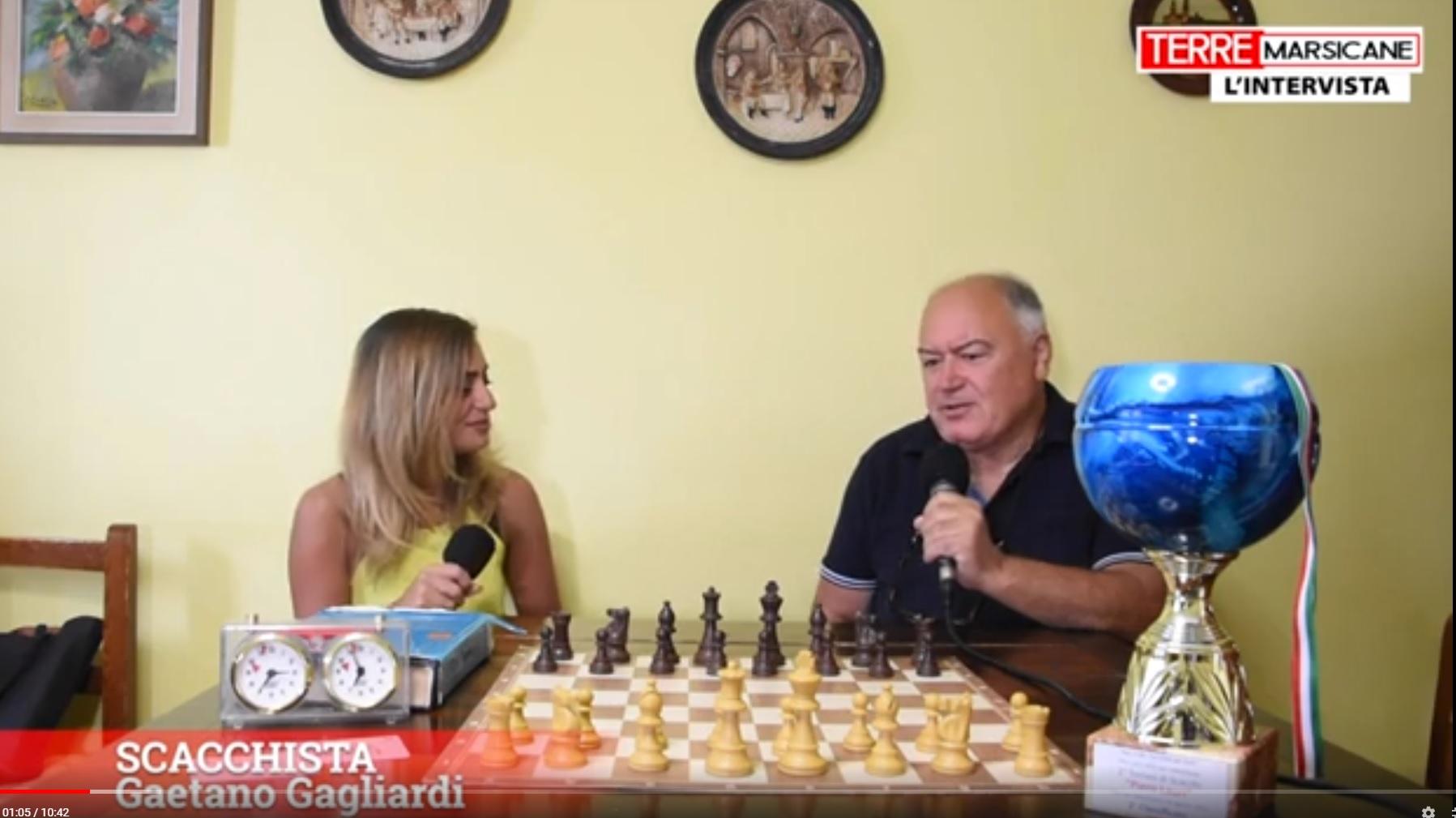 Mondo degli scacchi con il sandonatese pluripremiato Gaetano Gagliardi
