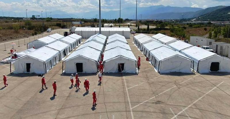 Circa 2000 i profughi ospiti da oggi nel centro della Croce Rossa ad Avezzano