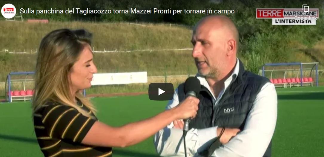 """Sulla panchina del Tagliacozzo torna Mazzei: """"Pronti per tornare in campo"""""""