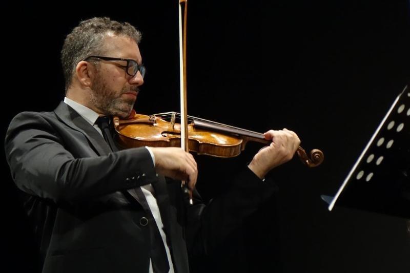 Il Maestro Ettore Pellegrino con Isa porta Bach in Jazz al Tagliacozzo Festival