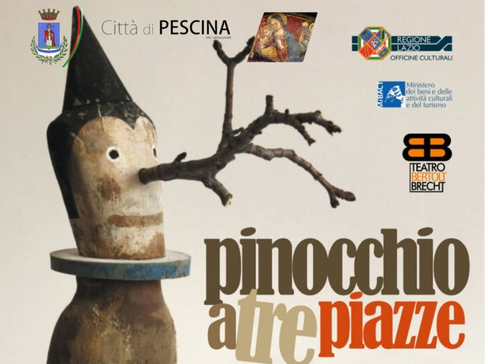 """Stasera a Pescina andrà in scena lo spettacolo """"Pinocchio a tre piazze"""", il Sindaco Zauri: """"Vi aspettiamo"""""""
