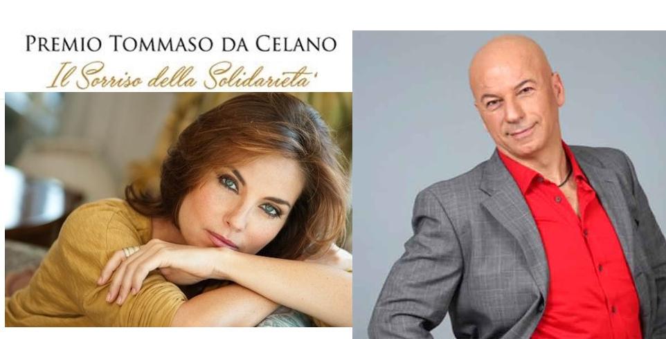 Vanessa Gravina e il cabarettista Cacioppo al «Premio Tommaso da Celano»