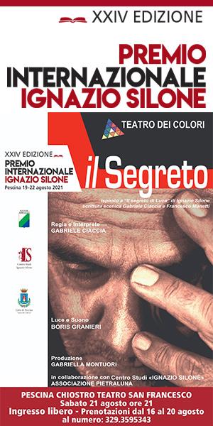 XXIV Premio internazionale Ignazio Silone, edizione ricca di eventi imperdibili dal 19 al 22 agosto nella Città di Pescina