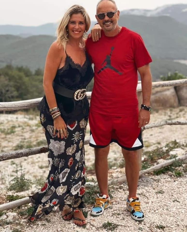 Sinisa Mihajlovic e signora in gita a Camporotondo