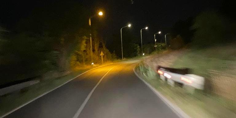 Di nuovo illuminata la SS 83 via Sarentina a Pescina