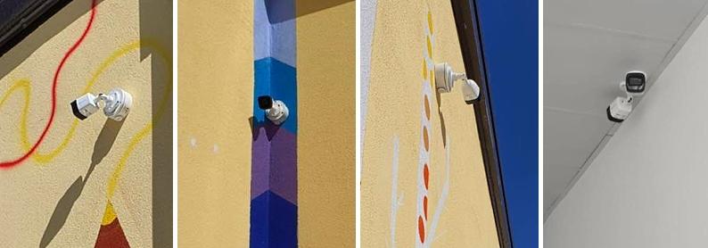 Videocamere di sorveglianza nella scuola elementare Aielli - Cerchio