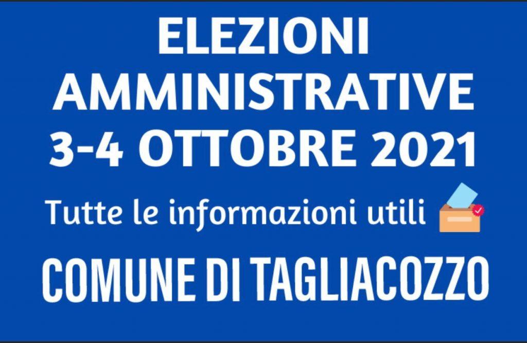 Elezioni Amministrative a Tagliacozzo: tutte le informazioni sui seggi