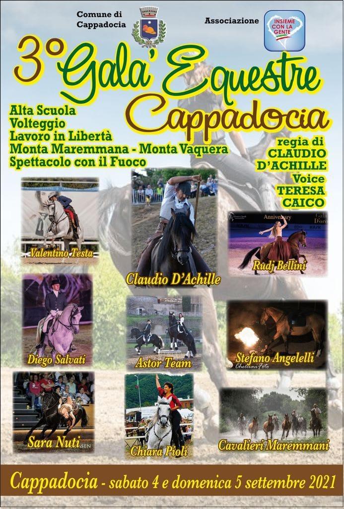 Terzo Galà Equestre a Cappadocia