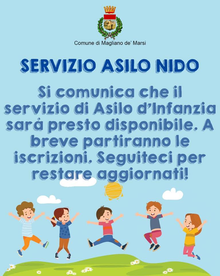 Il servizio di asilo d'infanzia sarà presto disponibile a Magliano de' Marsi