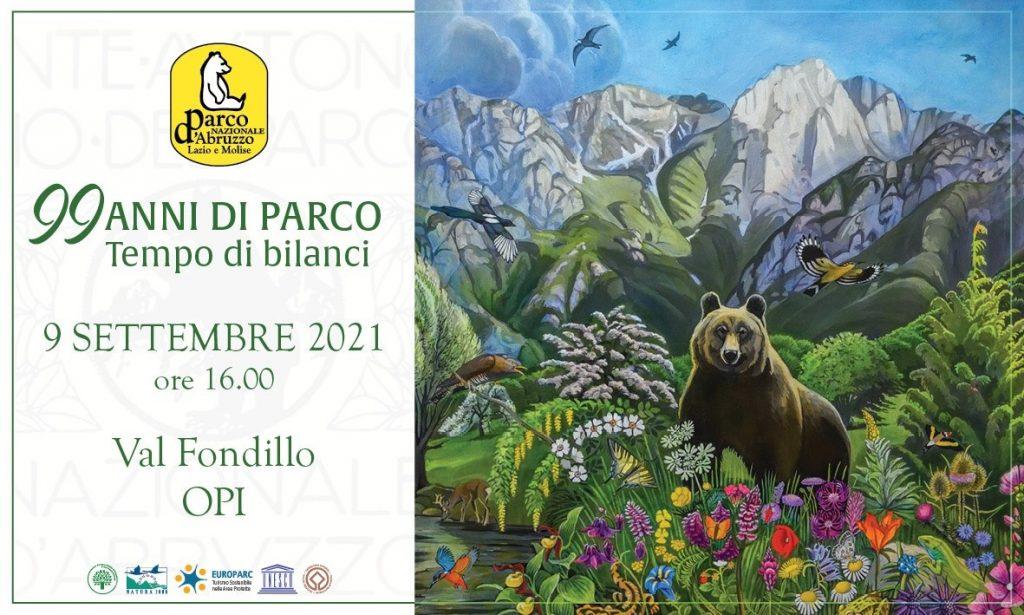 Parco Nazionale d'Abruzzo, festa per i suoi primi 99 anni